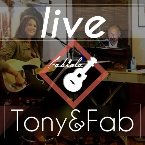 tony et faiola live template icone logo concert groupe musique
