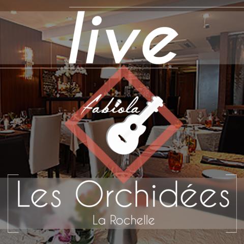 concert pop rock live fabiola la rochelle restaurent les orchidees